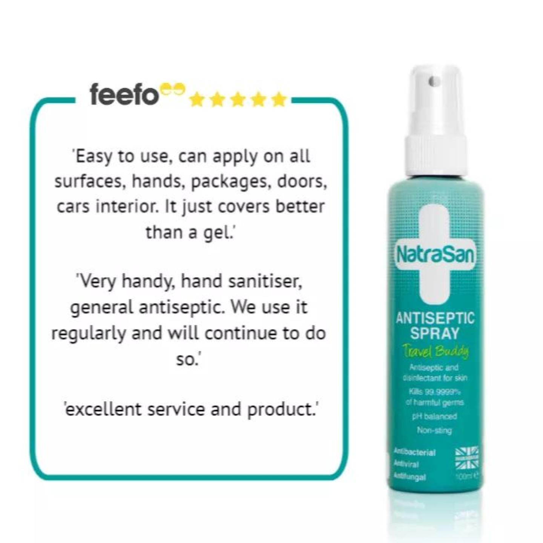 NatraSan  Antiseptic Spray - Travel Buddy 100ml