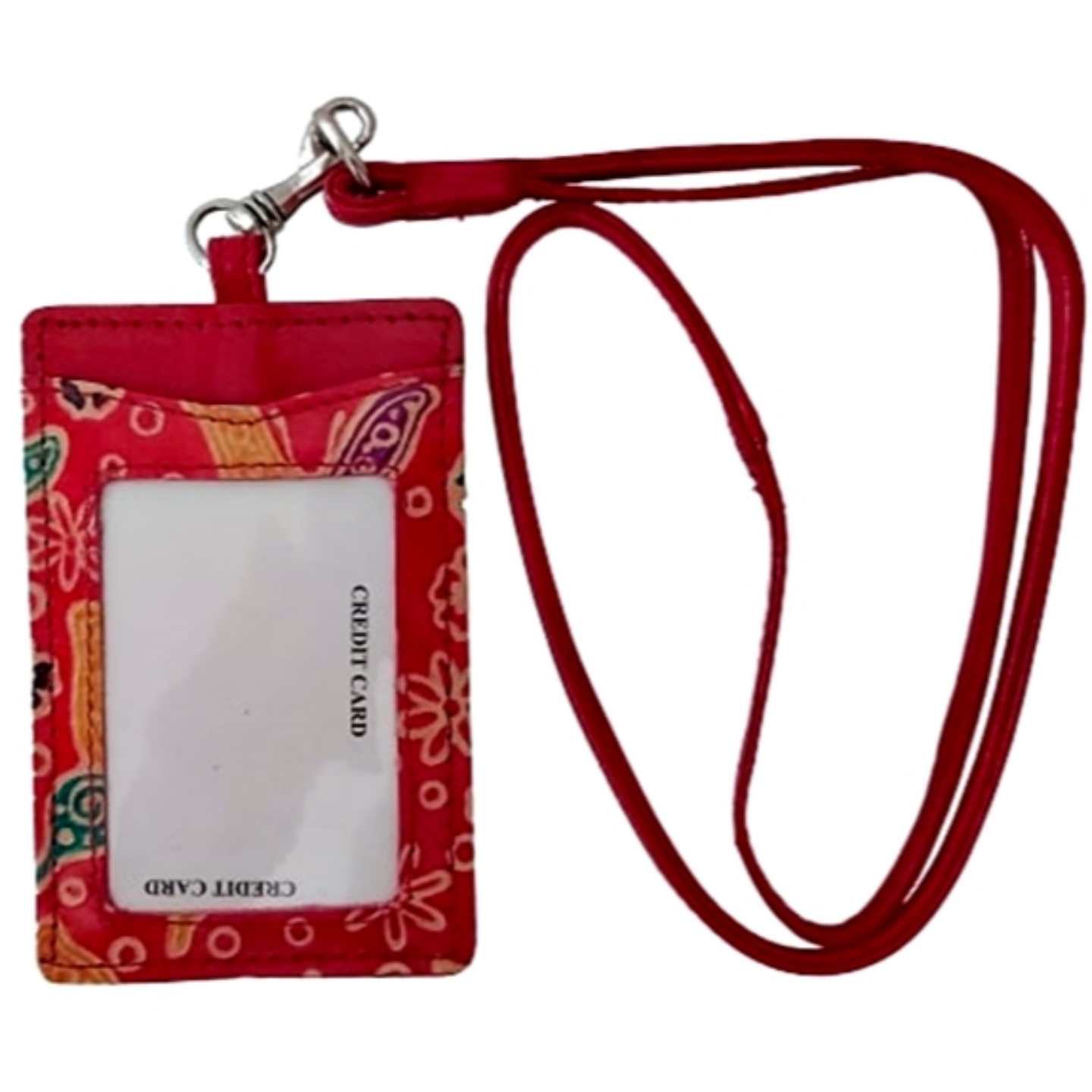 Eco Trends ID & Lanyard Red