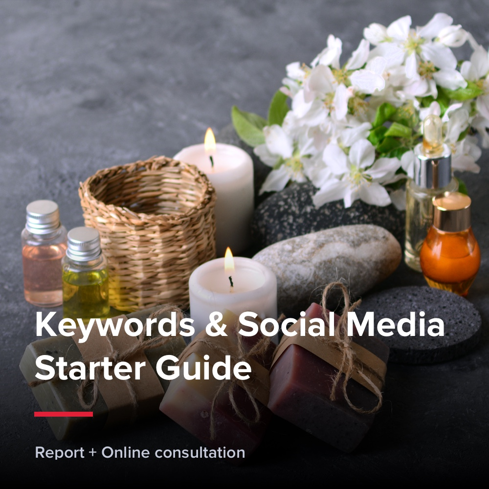 Keywords & Social Media Starter Guide - Beauty & Health