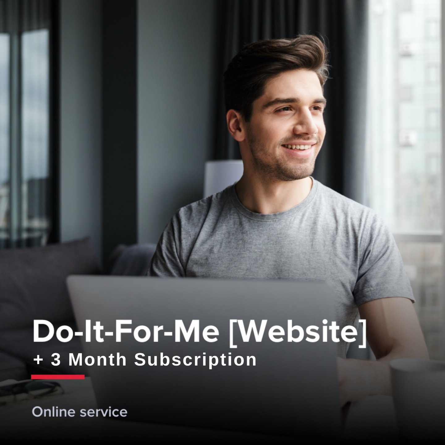 Do-It-For-Me Website +3 month subscription