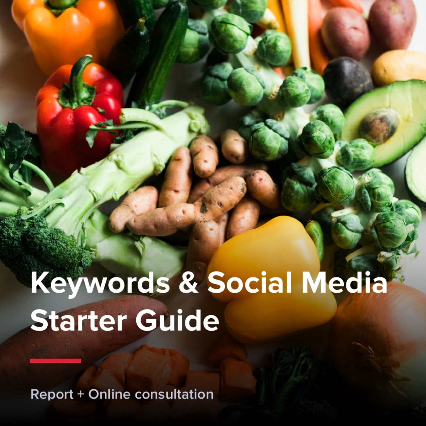 Keywords & Social Media Starter Guide - Food & Groceries