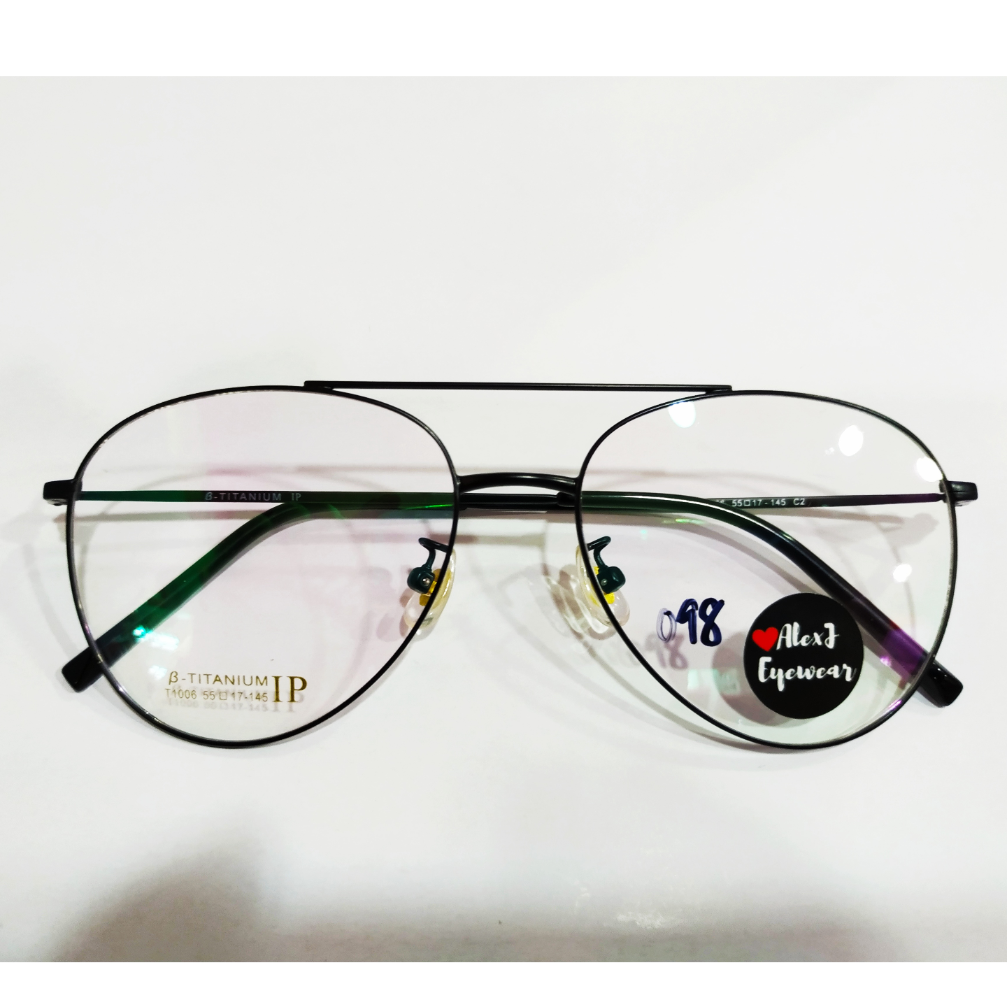 AlexJ Eyewear T1006 with cr39 1.56 mc emi