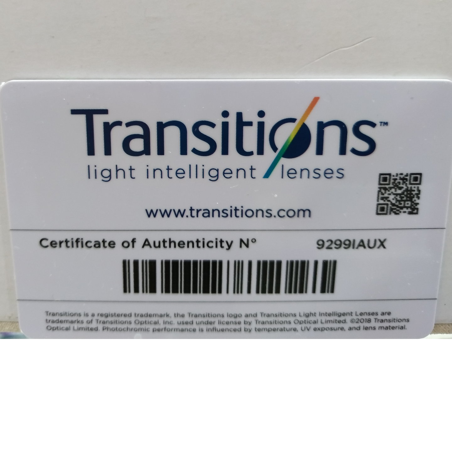 Transition Signature 1.5 HMC Grey