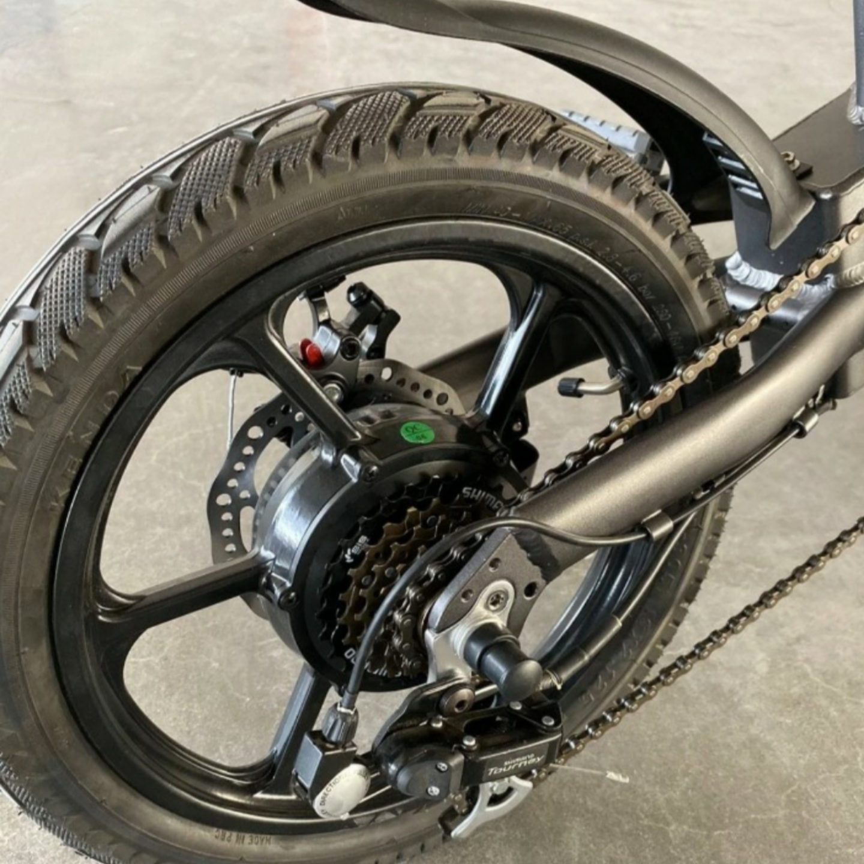 ROGI MAX Foldable ebike 48v 14AH  20 LTA APPROVED PAB w 6 gears