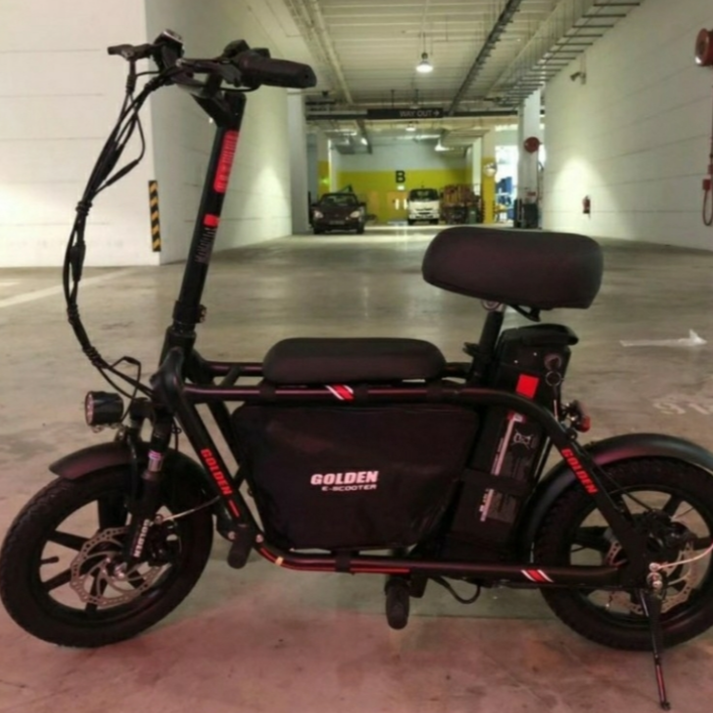 KIDO Seated Electric Scooter UL2272 ESCOOTER