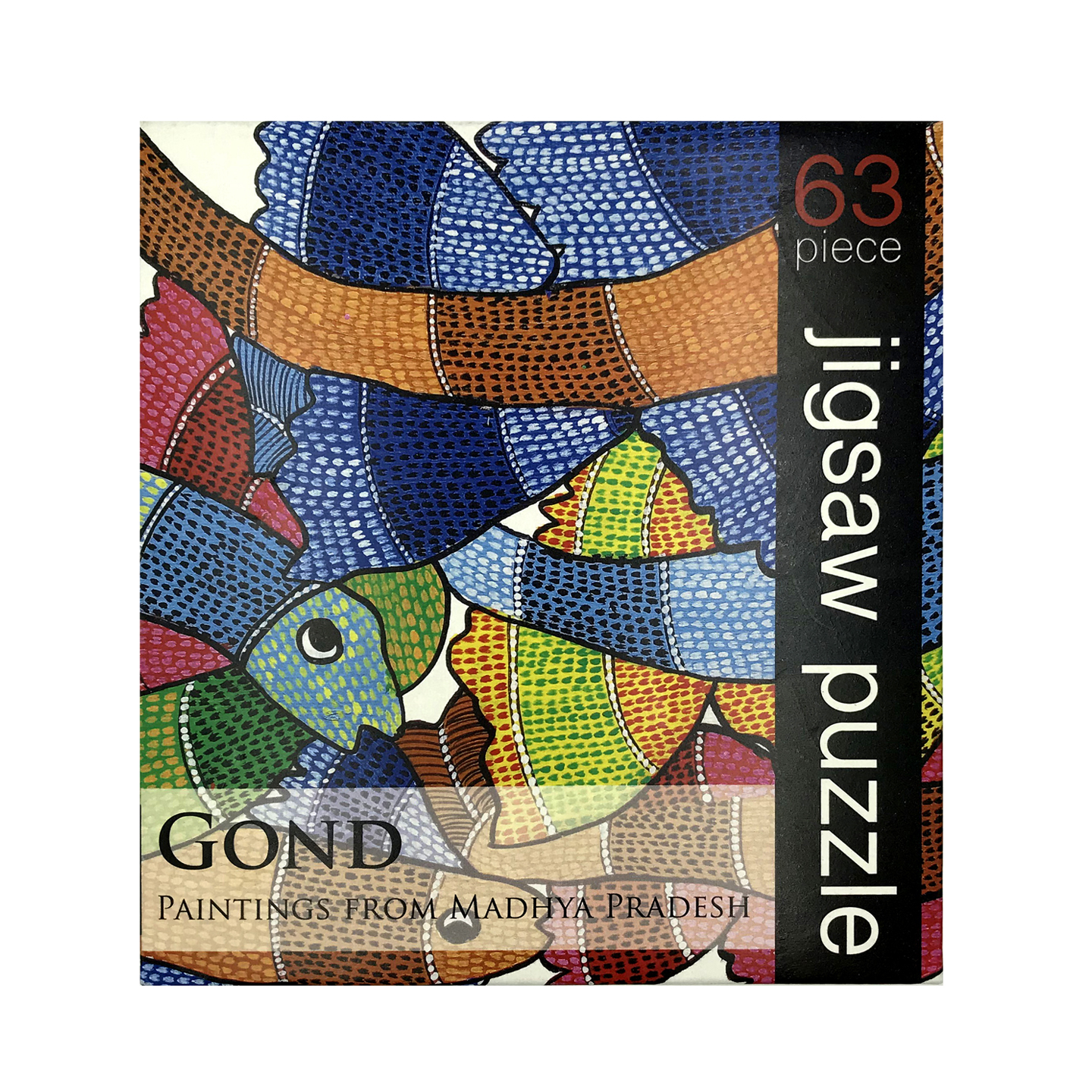 JIGSAW PUZZLE 63 PC - Gond