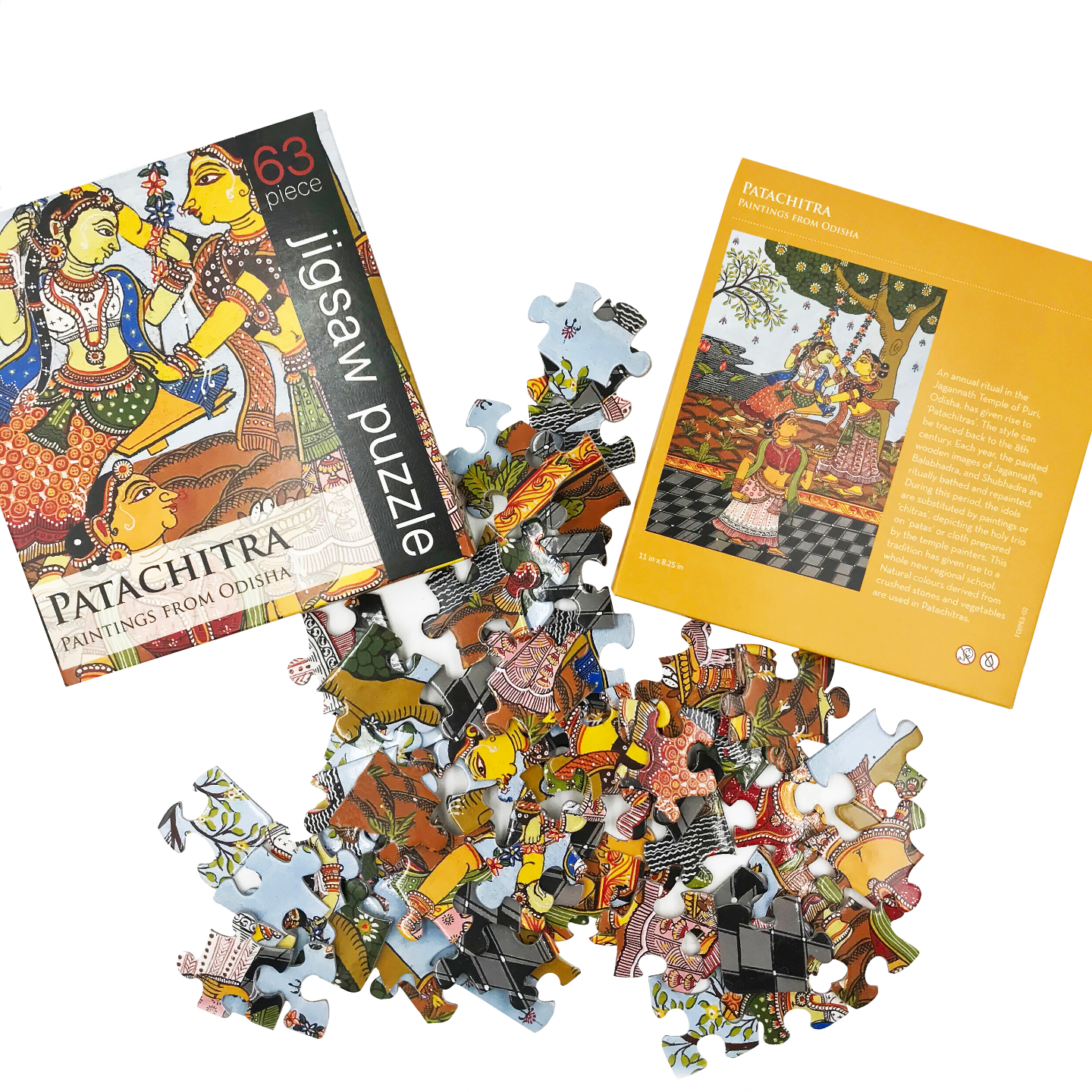 JIGSAW PUZZLE 63 PC - PataChitra