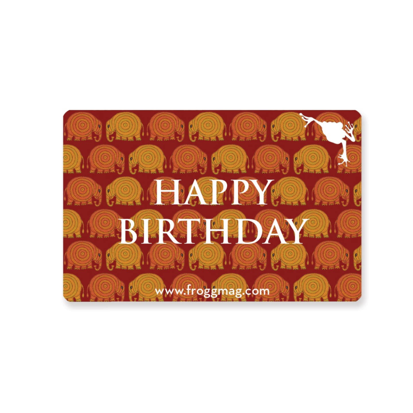 E Gift Voucher - Happy Birthday
