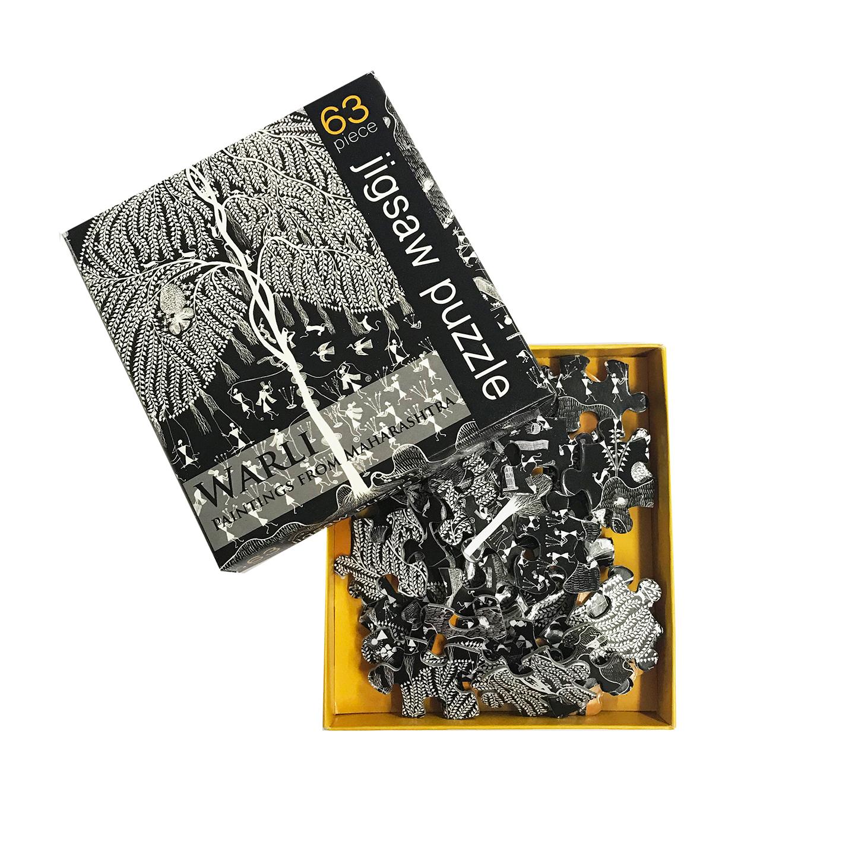 JIGSAW PUZZLE 63 PC - Warli