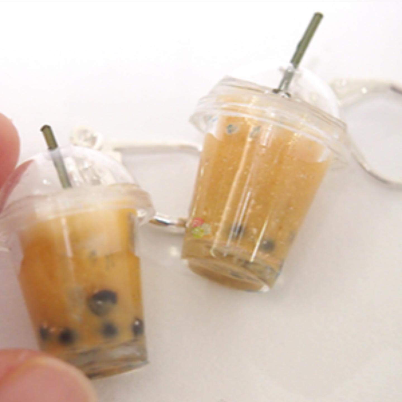 Clay BBT Bubble Tea Earrings Workshop