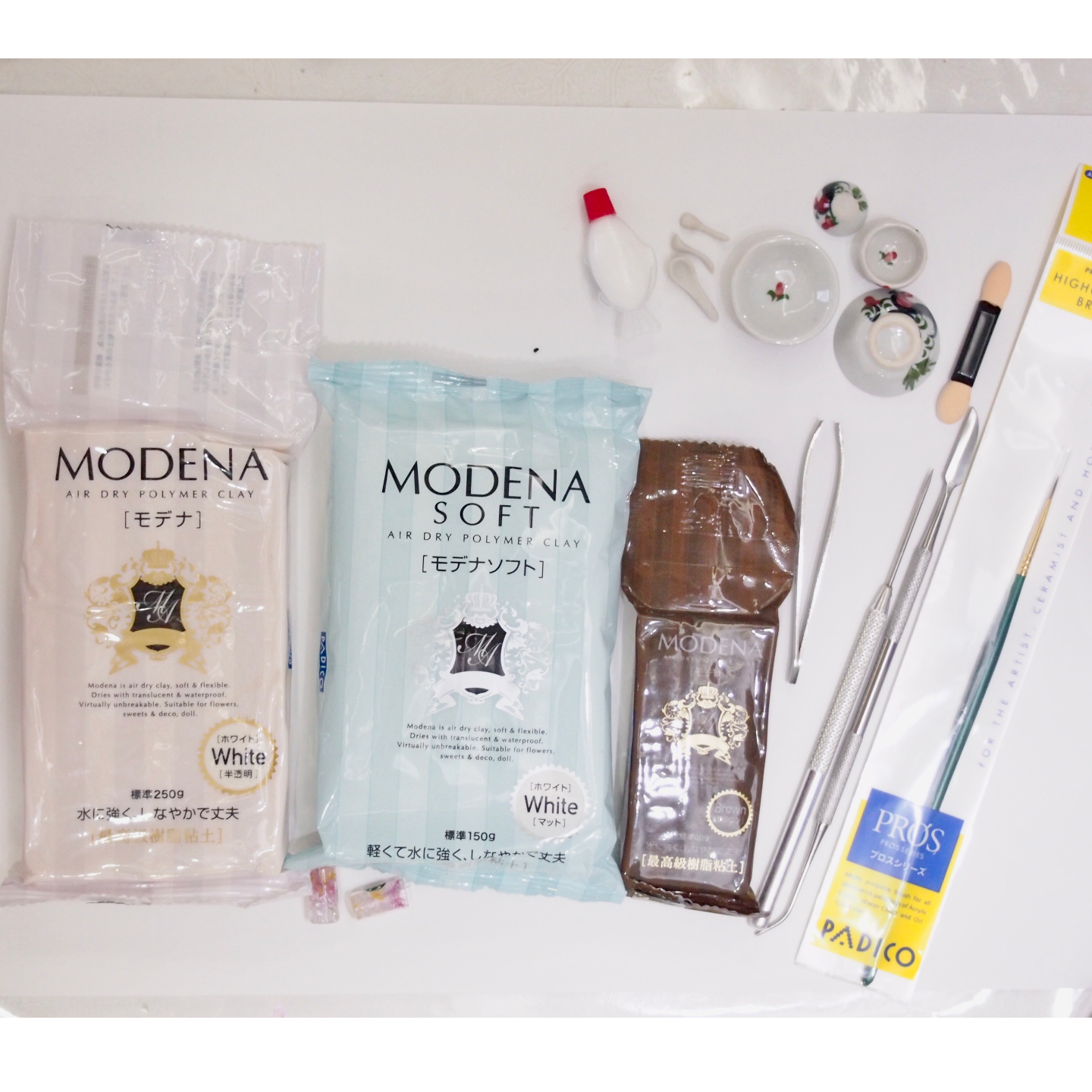 Clay DIY Starter Kit - Air Dry Waterproof Resin Clay