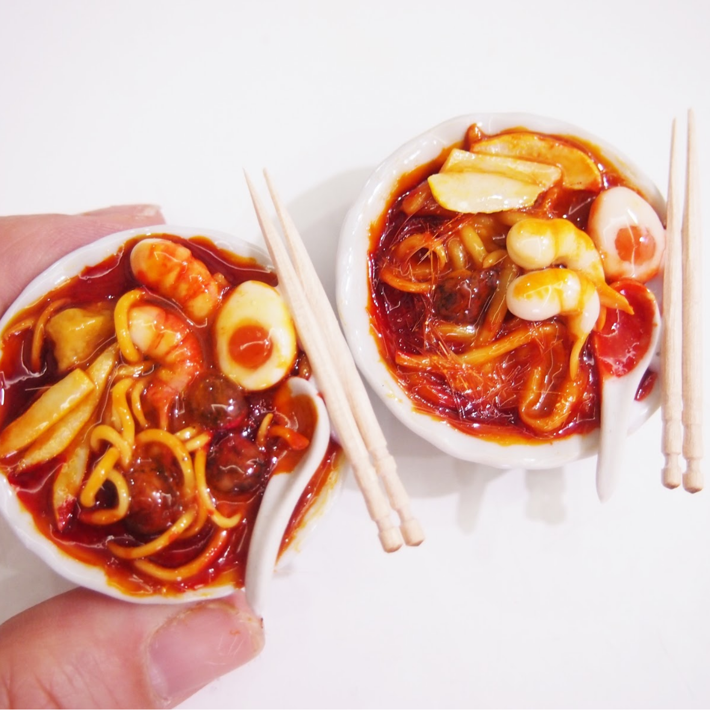 Workshop - Miniature Food Sculpting Laksa Bowl
