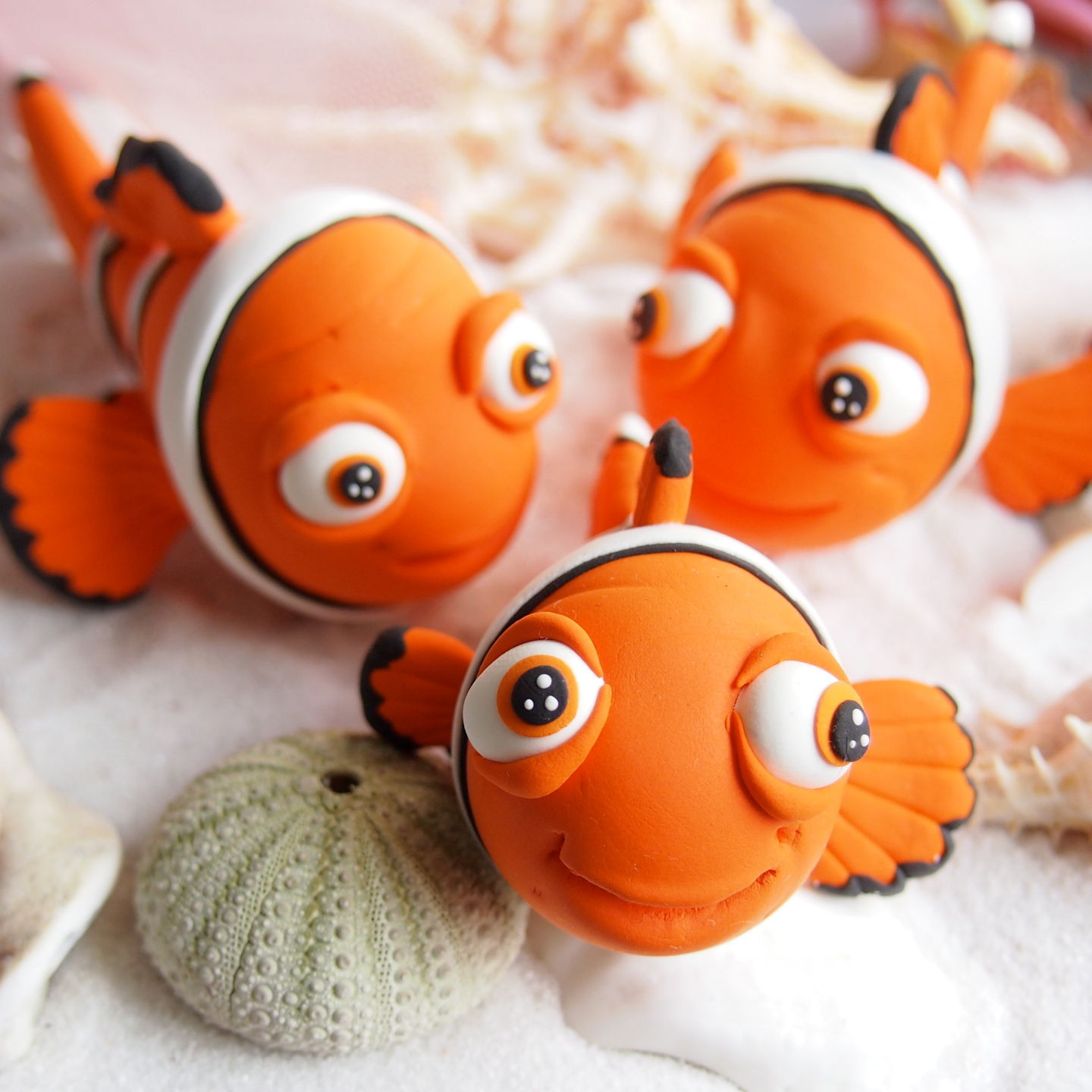 Workshop - Clay Clown Fish Nemo