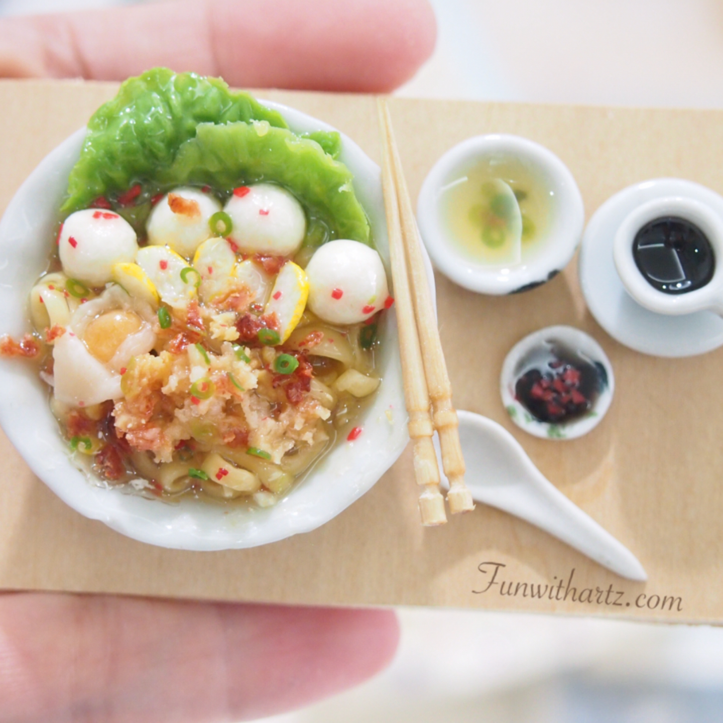 Miniature Food-Noodle Set