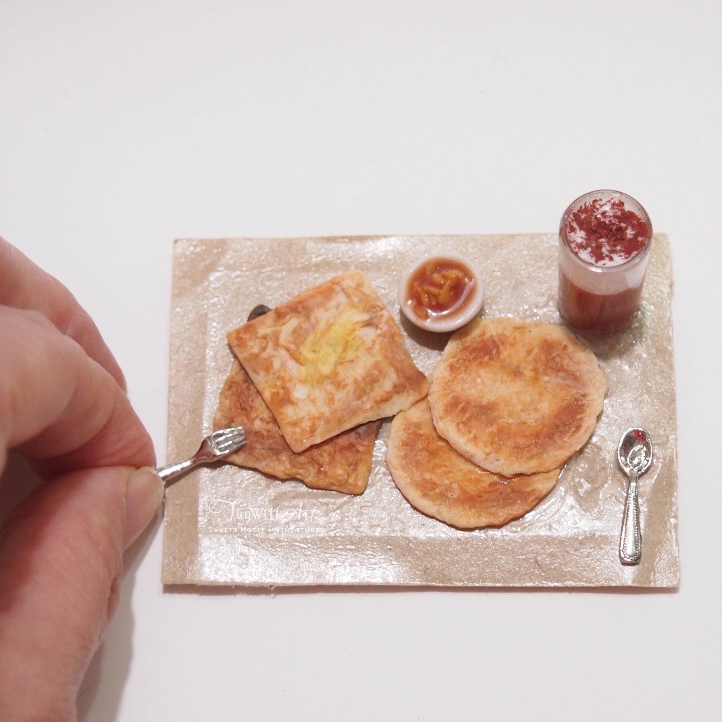 Miniature Roti Prata Set Workshop