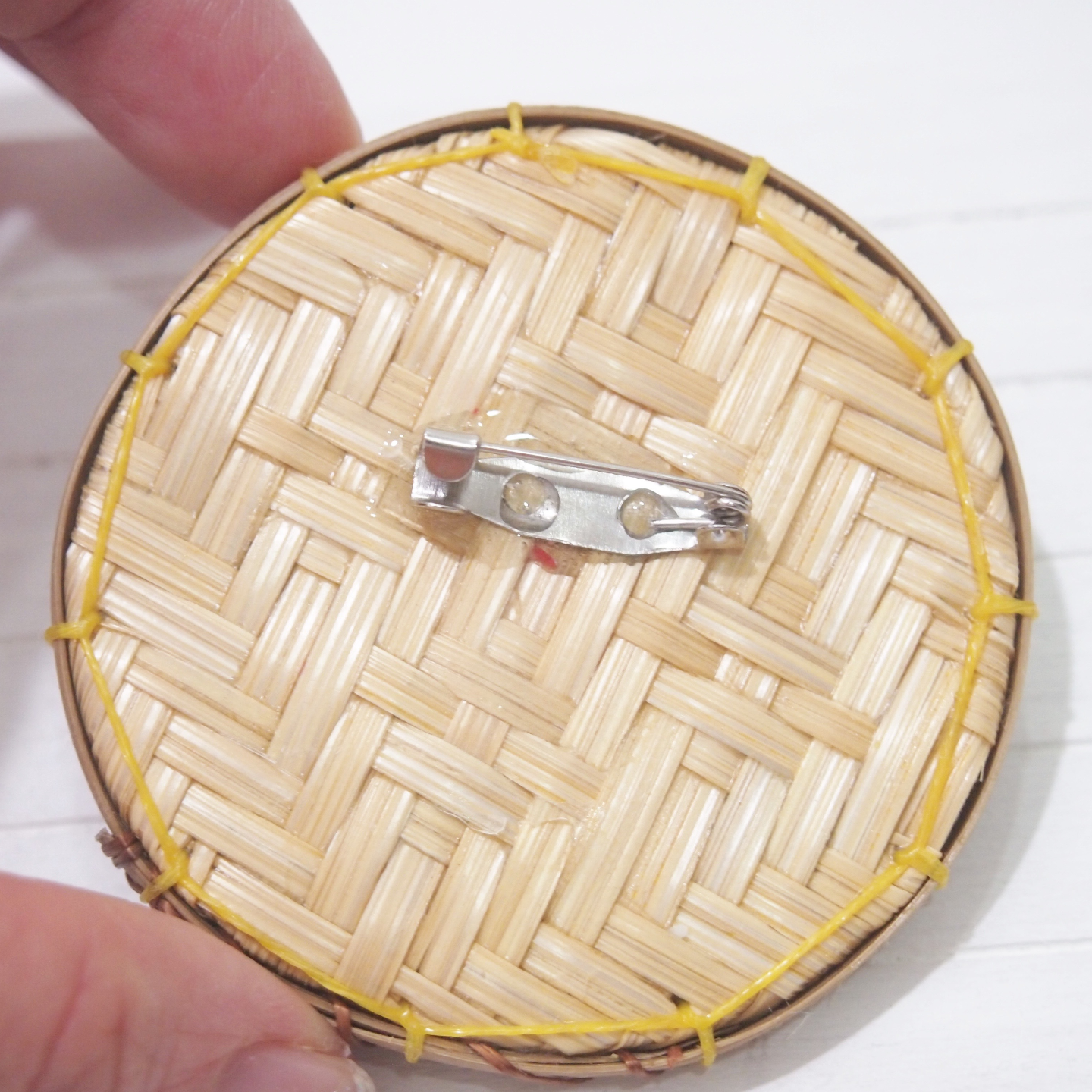 Brooch - Miniature Nonya Kueh Tray