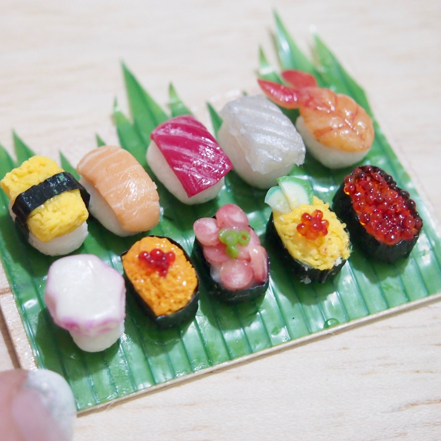 Online clay workshop Miniature Nigirizushi Nigiri Sushi