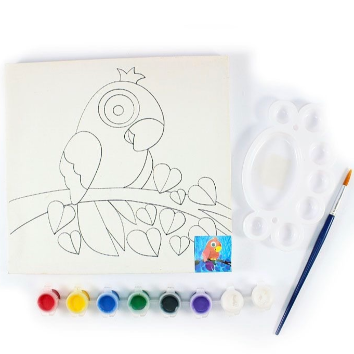Canvas Art Kit Cartoon