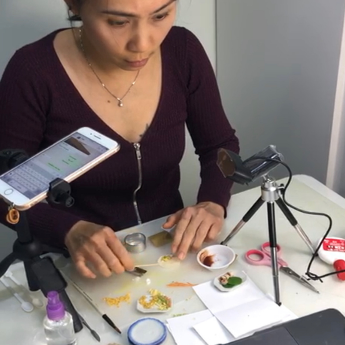 Workshop - Miniature Food Sculpting Popiah