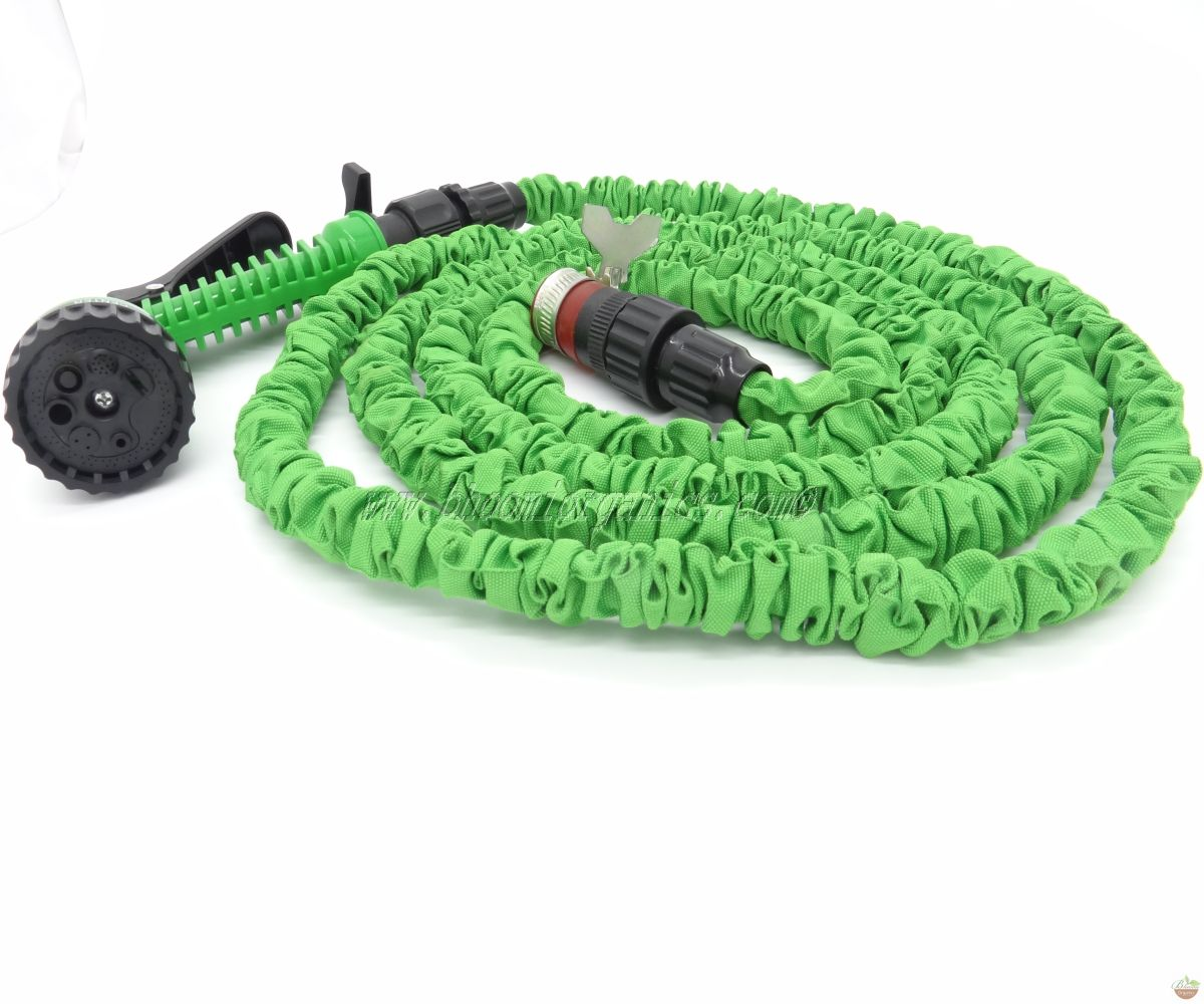 Expandable Irrigation Hose Sprinkler 7- Pattern 7.5m25ft.