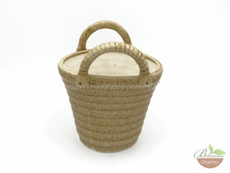 Bucket pot Brown
