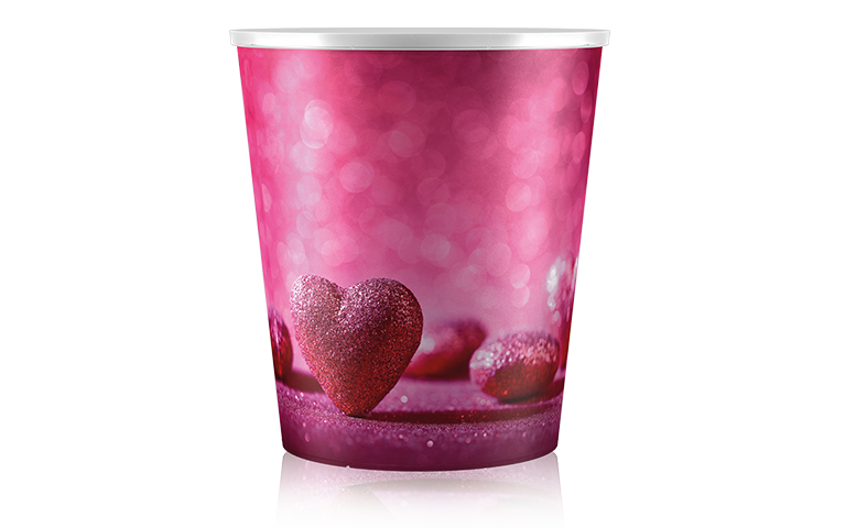 Poppelmann Teku selfwatering pots - Valentinesday