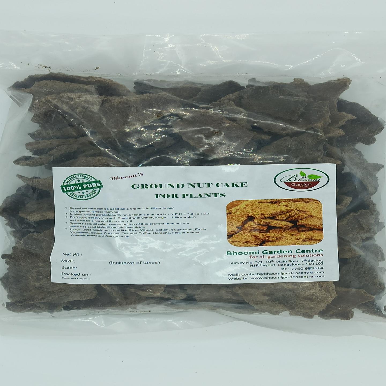 Groundnut cake ( 1 kg pack )