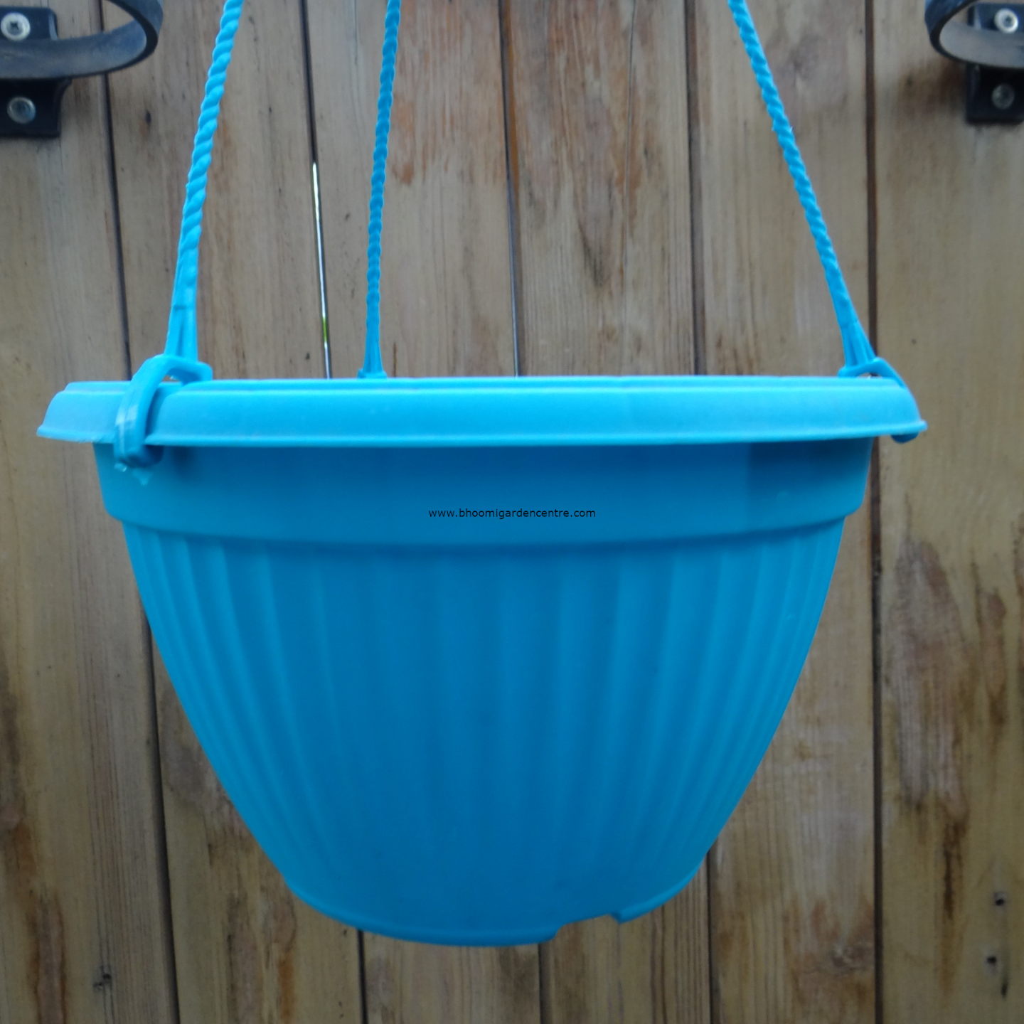 Bello HB   blue hanging pot  25  inch