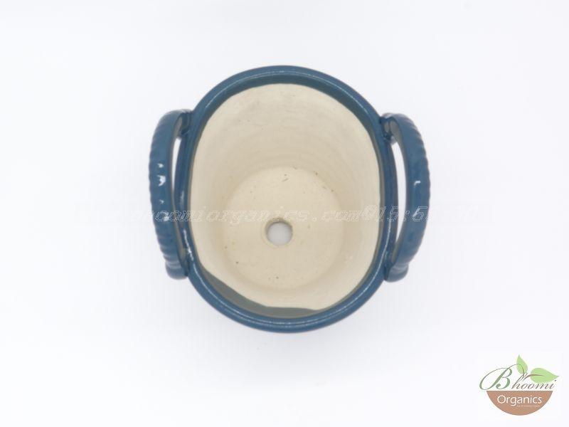Bucket pot Blue