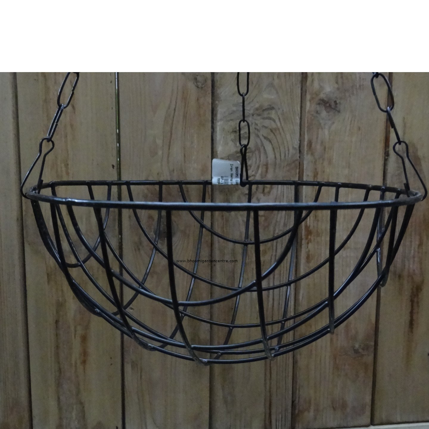 Metal hanging regular 8 inch