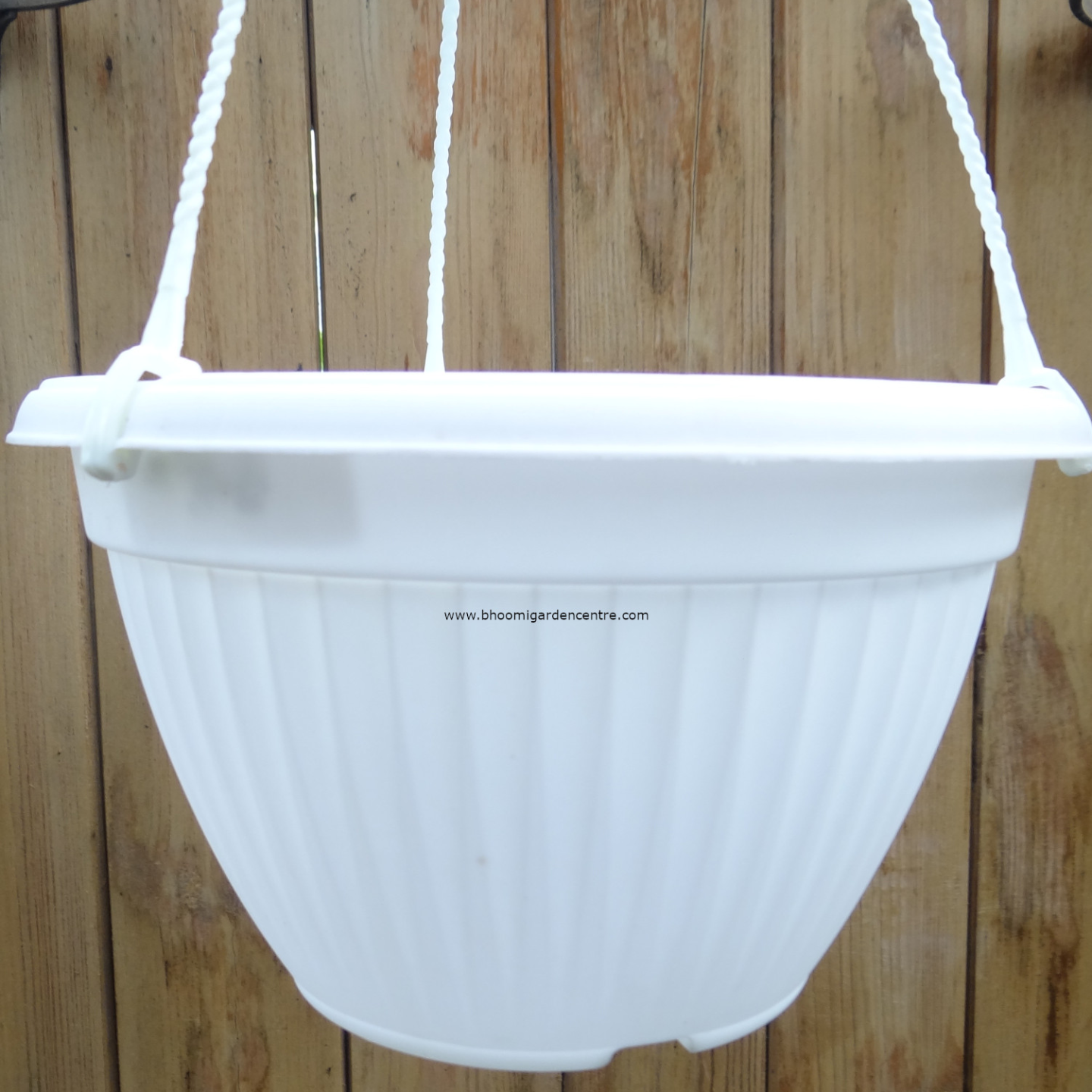 Bello HB White hanging pot  20  inch