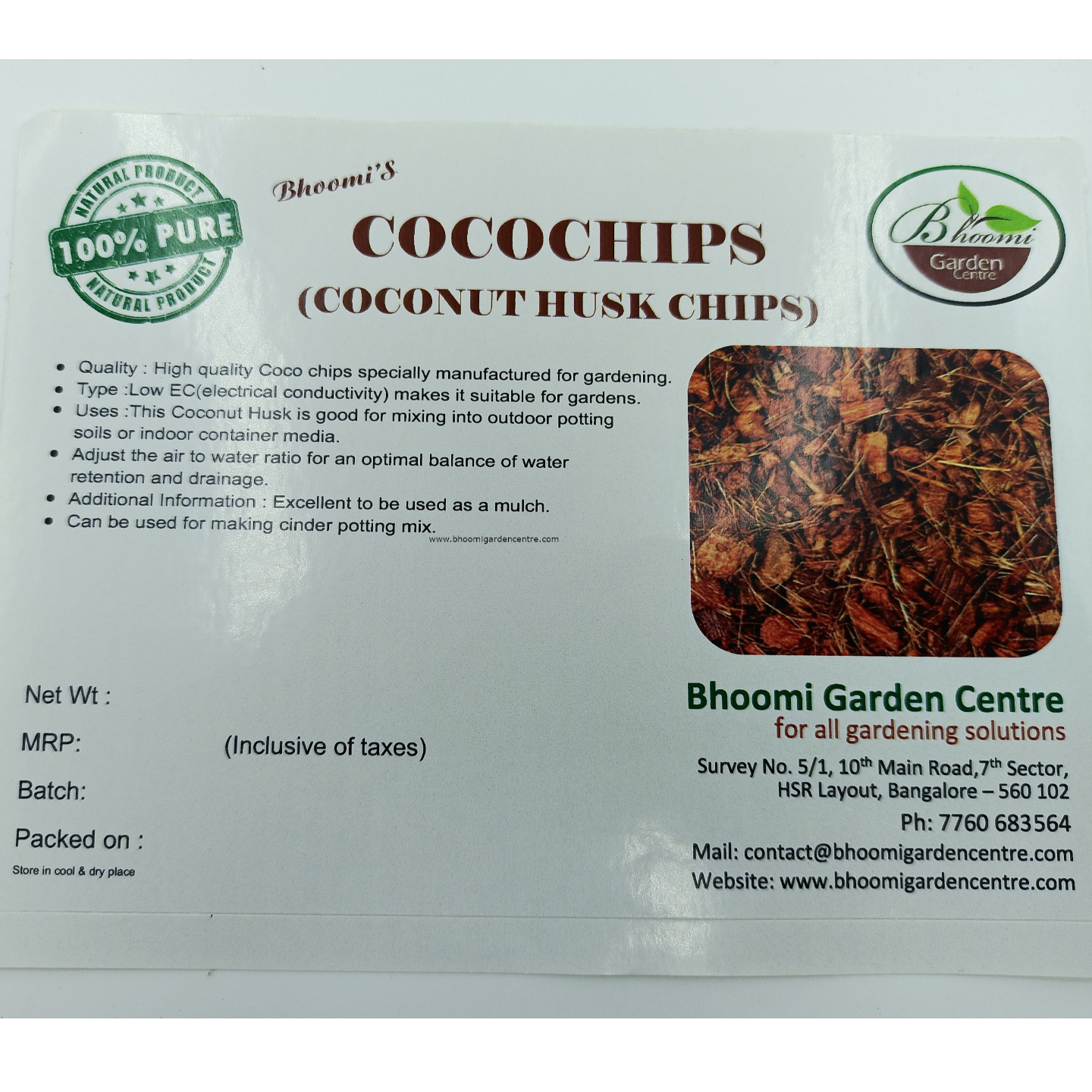 Cocochips   ( 500grm pack )