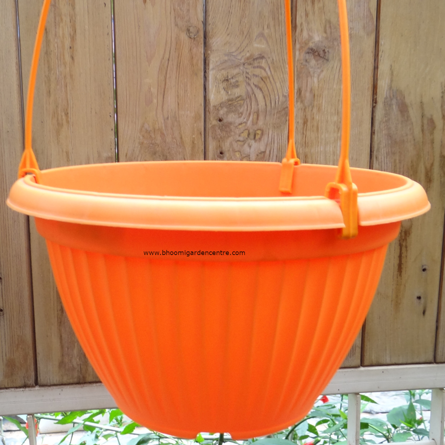 Bello HB   Orenge  hanging pot  25  inch