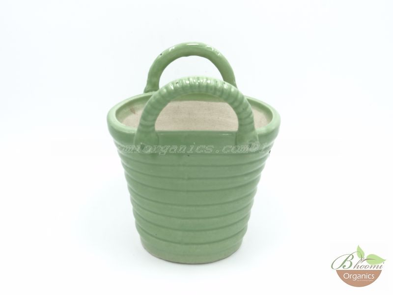 Bucket pot Green