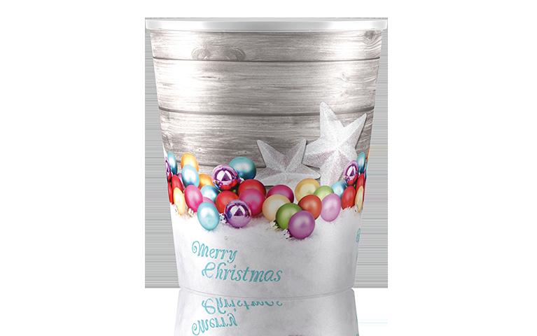 Poppelmann Teku selfwatering pots - Christmas