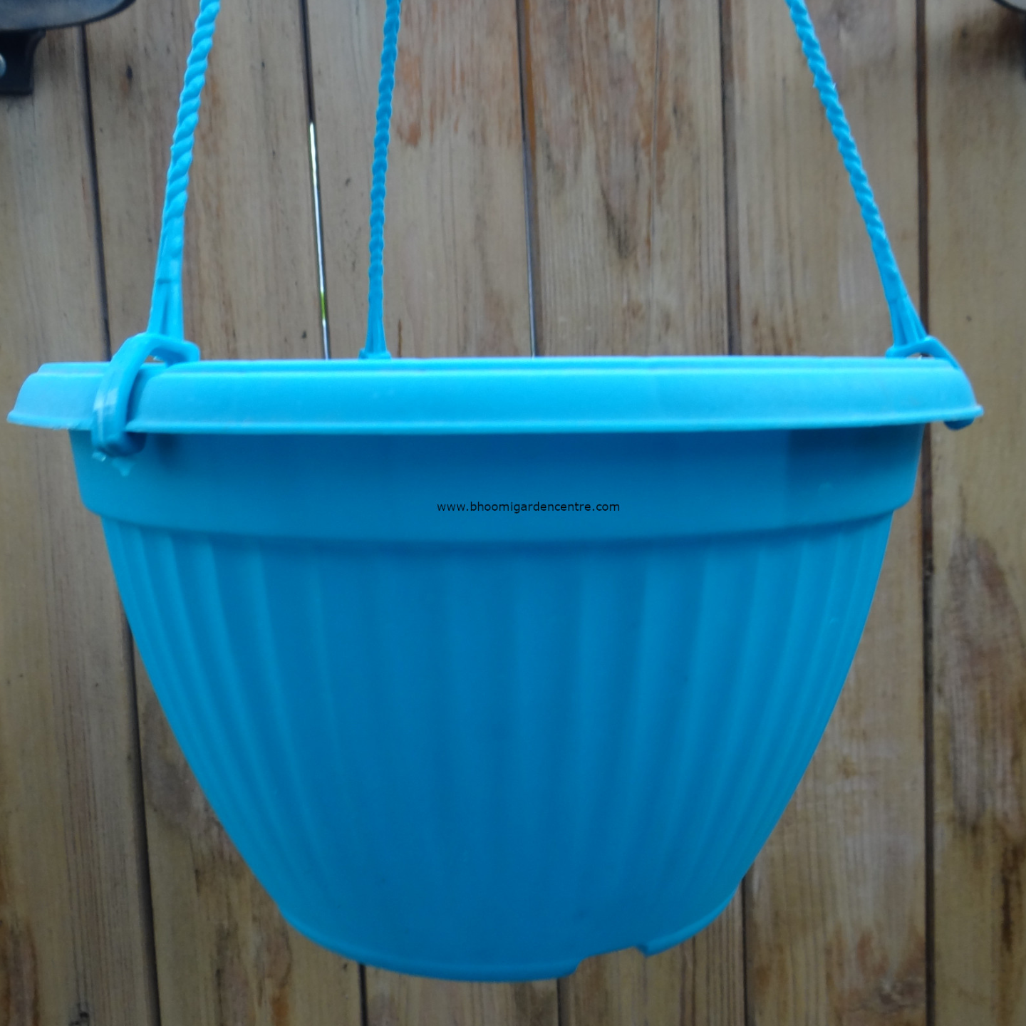 Bello HB   blue hanging pot  20  inch