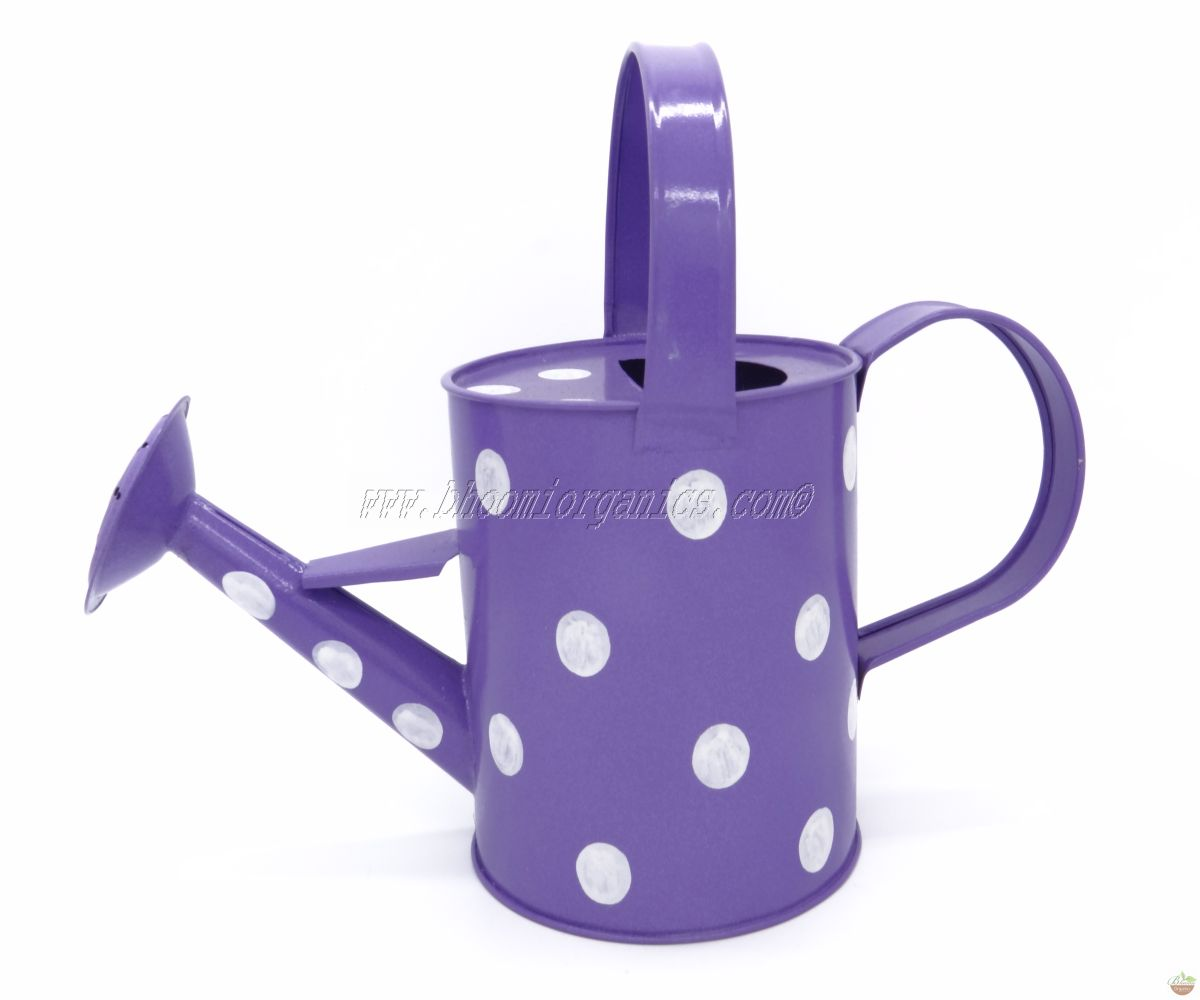 Water can 1 ltr polka dots blue