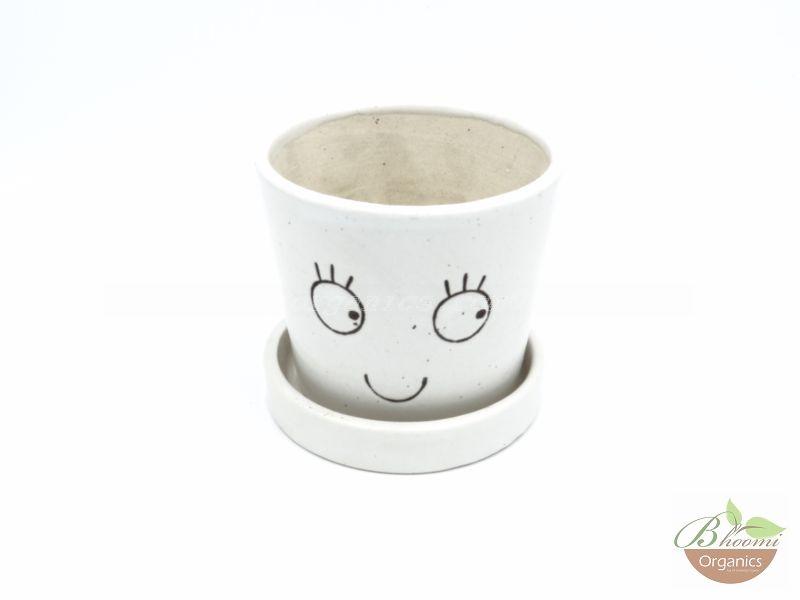 Cup and saucer pot