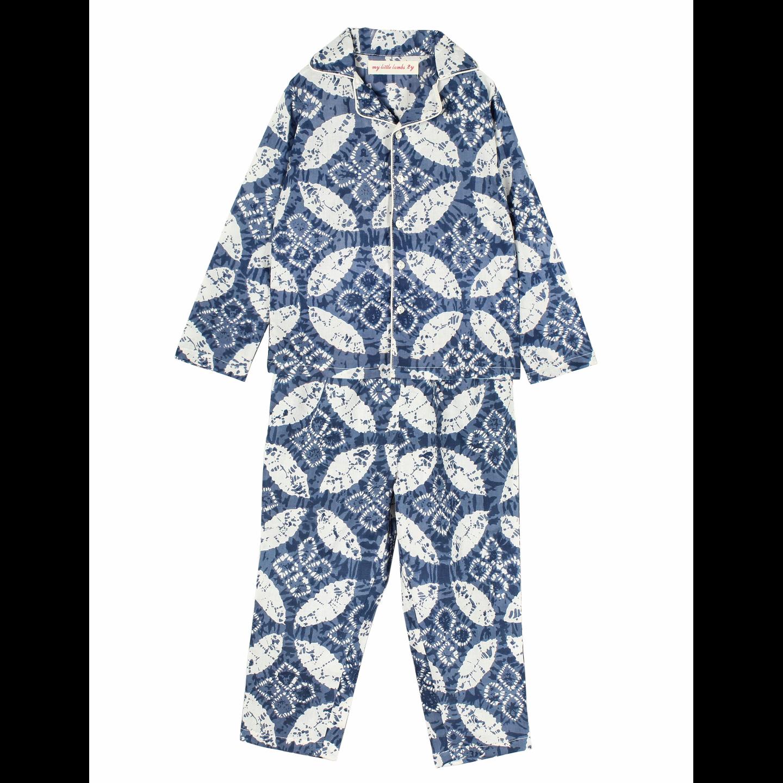 Silvy Night Suit Indigo