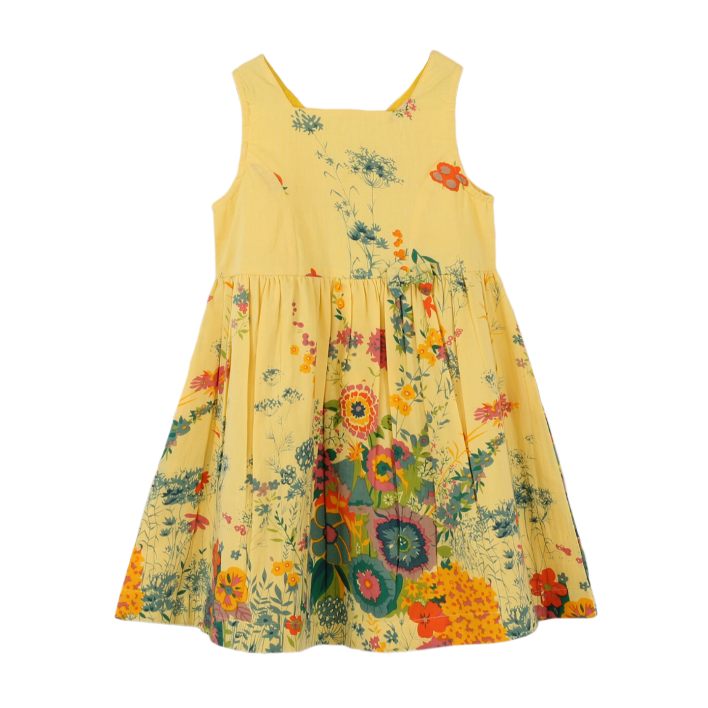 Garden yellow dress