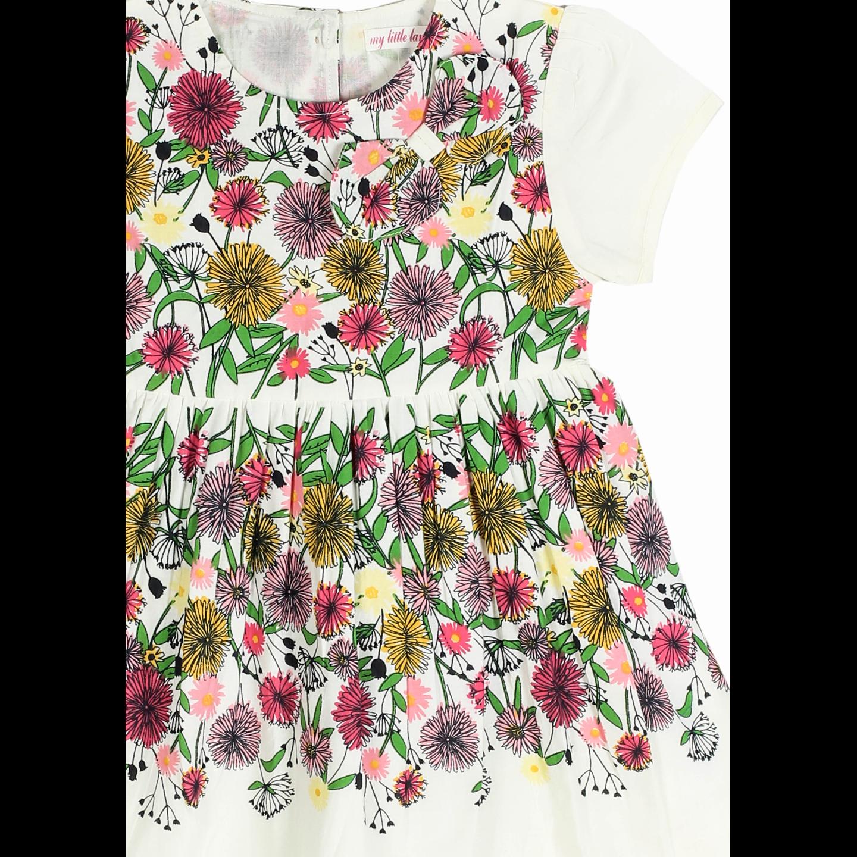 Floral Panel Dress