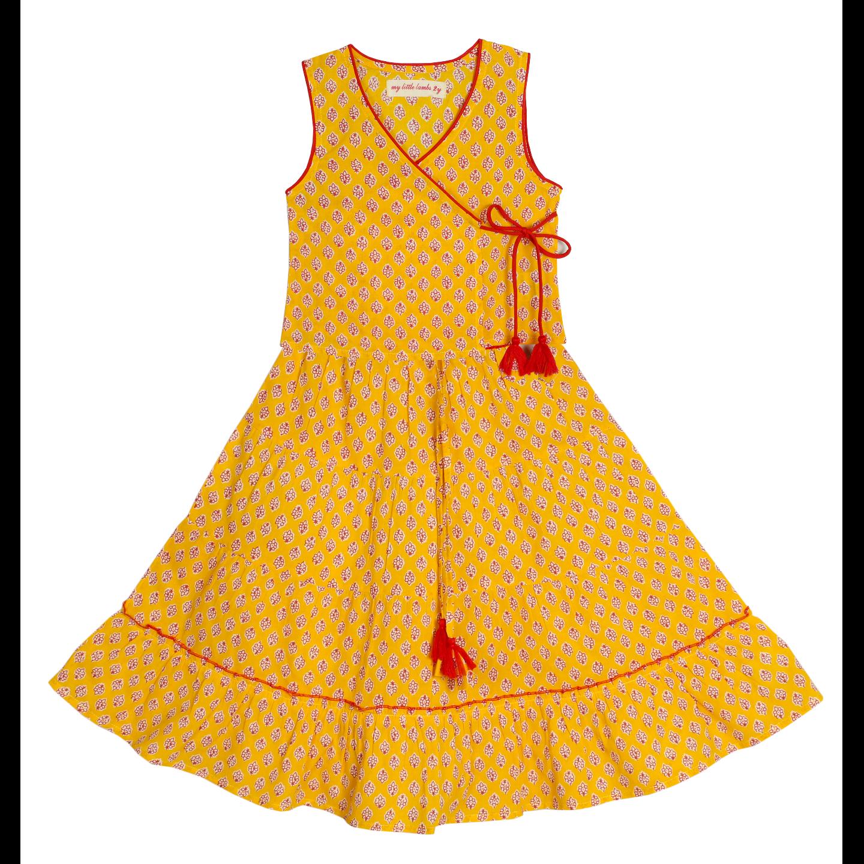 Isha Lehenga - Yellow