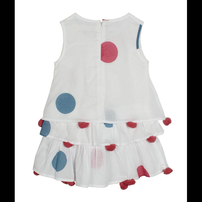Chavi pink-blue dress