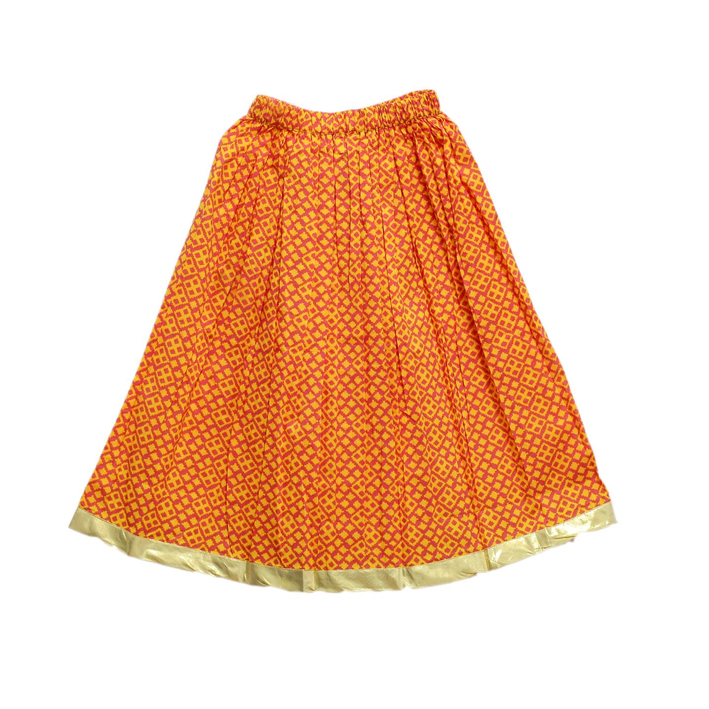 Yanni orange Skirt