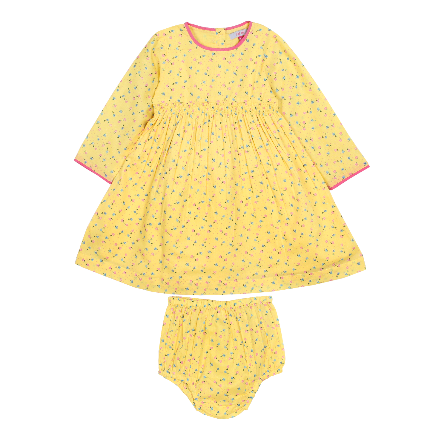 Yellow liberty clothing set