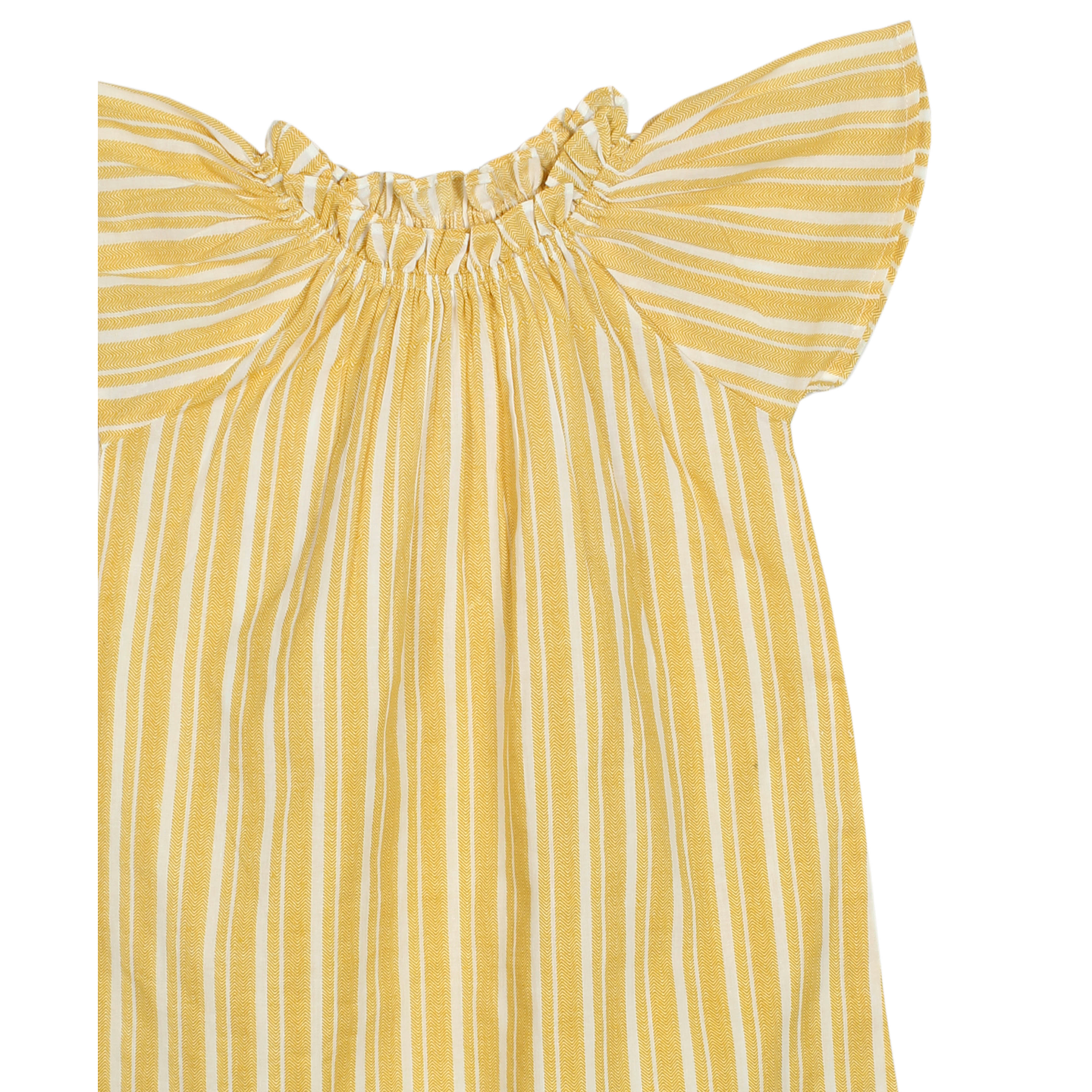 French yellow night dress