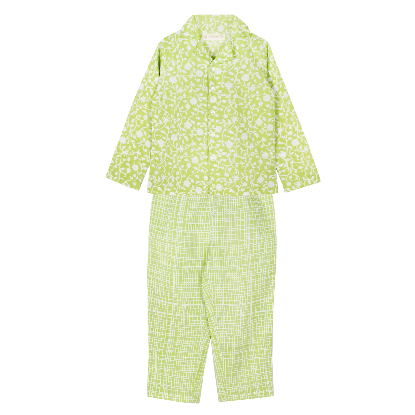 Jasmine Night Suit Green