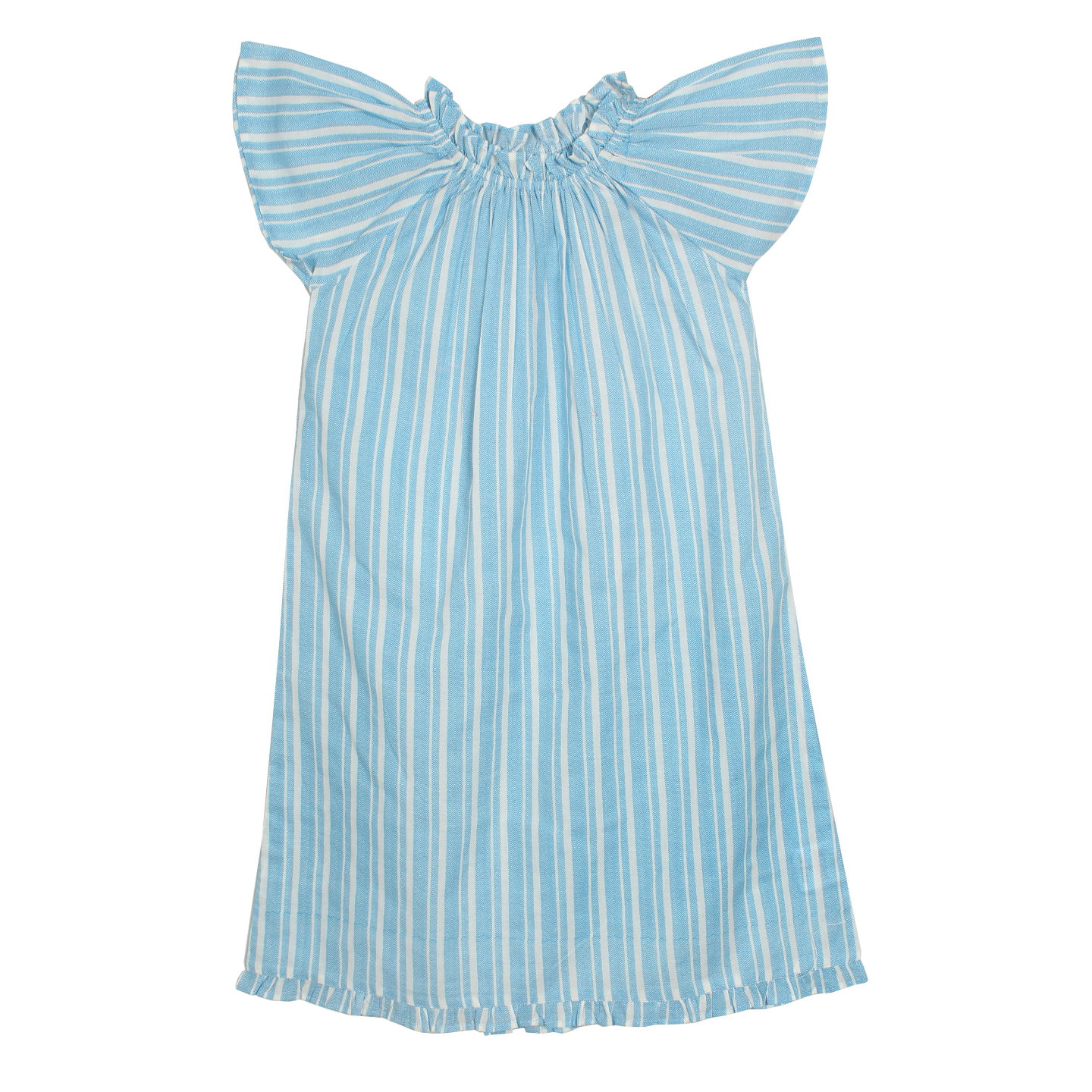 French blue night dress