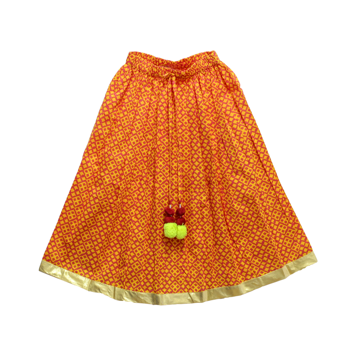 Yanni orange Skirt