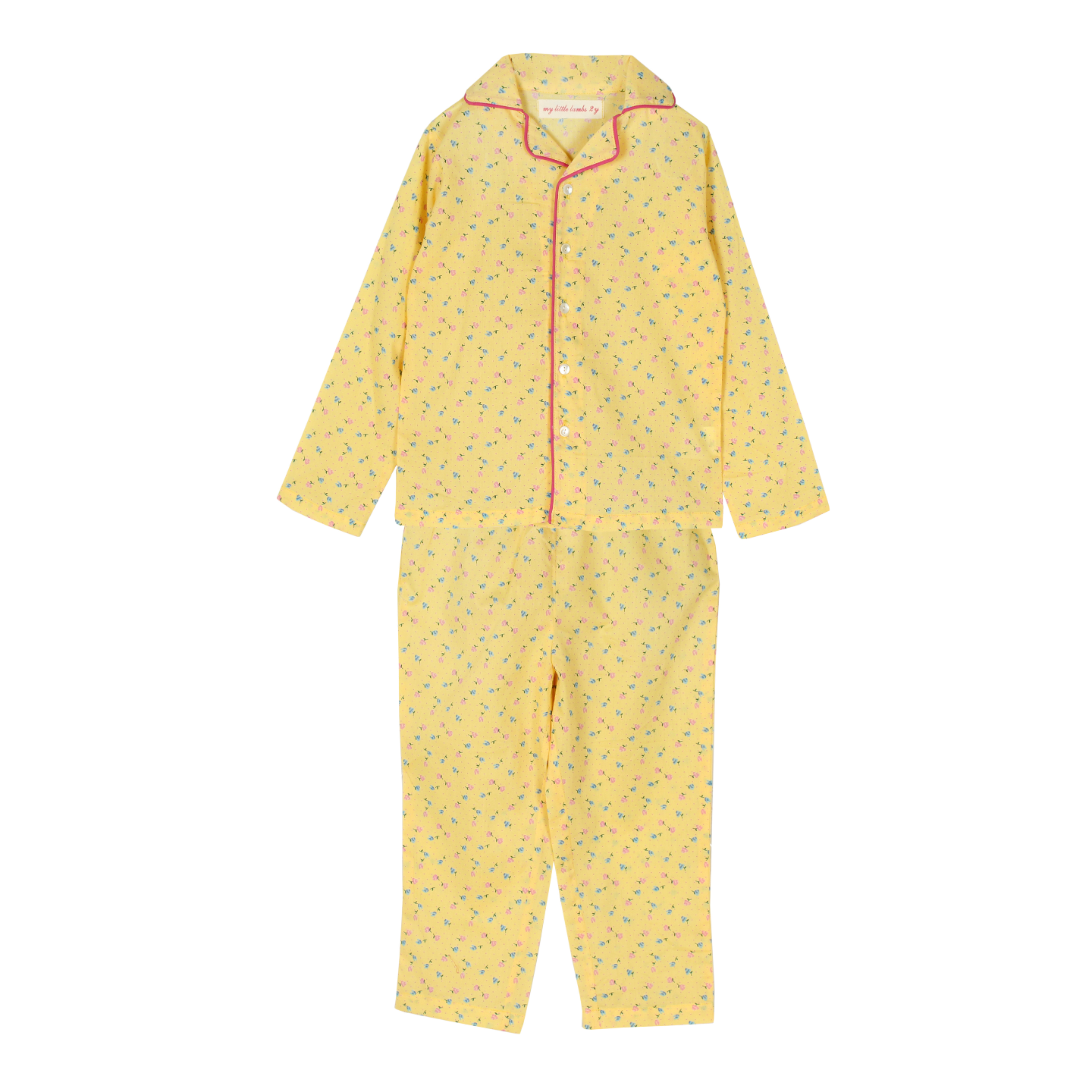 Liberty Night Suit Yellow